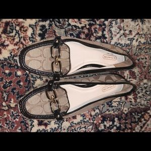 Authentic coach loafers!